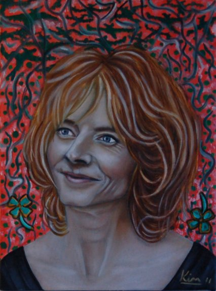 Oil Painting > Dead Rabbit > Jodie Foster